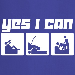 Yes I can (Vector) - Cooking Apron