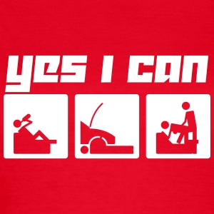 Yes I can (Vector) - Frauen T-Shirt
