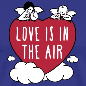 valentine - love is in the air 3c - Männer Premium T-Shirt