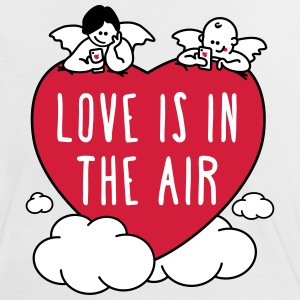 valentine - love is in the air 3c T-Shirts - Women's Ringer T-Shirt