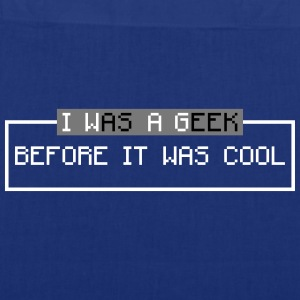 i was a geek before it was cool Bags & Backpacks - Tote Bag