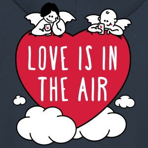 valentine - love is in the air 3c Hoodies & Sweatshirts - Men's Premium Hooded Jacket