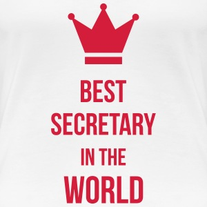 Best Secretary T-Shirts - Women's Premium T-Shirt