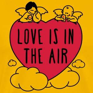 love is in the air 2c T-Shirts - Men's Premium T-Shirt