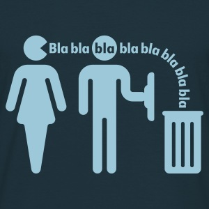 Bla bla bla (f/small), Fun T-Shirt - Men's T-Shirt