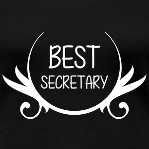 Best Secretary T-Shirts - Frauen Premium T-Shirt