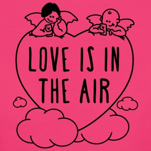 valentine - love is in the air 1c T-Shirts - Women's Organic T-shirt