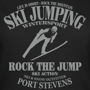 ski jumping - ski flying - skijumper T-Shirts - Women's T-Shirt