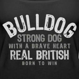 Bulldog - Real British Tops - Frauen Premium Tank Top
