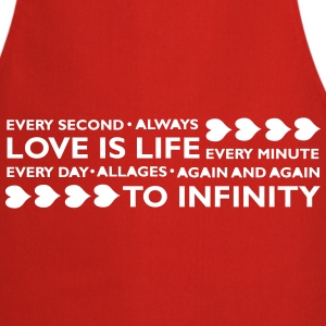 LOVE IS LIFE  Aprons - Cooking Apron