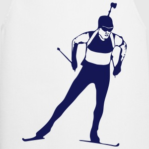 Biathlon - cross country skiing - skiing - ski  Aprons - Cooking Apron