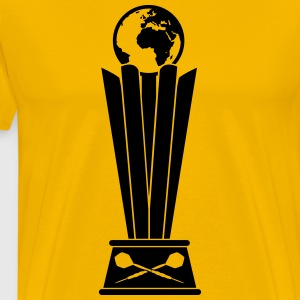 Darts World Championship Trophy T-Shirts - Men's Premium T-Shirt