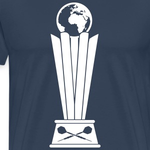 Darts World Championship Trophy T-shirts - Mannen Premium T-shirt