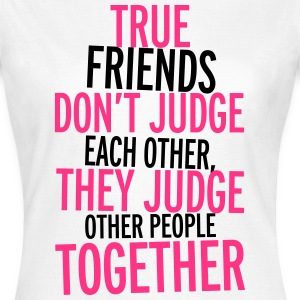 True Friends T-shirts - T-shirt dam
