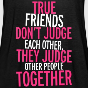 True Friends Tops - Women's Tank Top by Bella