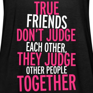 True Friends Tops - Frauen Tank Top von Bella