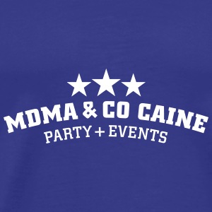 MDMA and Co Caine T-Shirts - Men's Premium T-Shirt