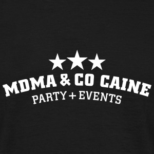 MDMA and Co Caine T-shirts - T-shirt herr
