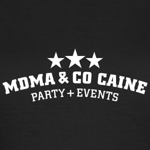 MDMA and Co Caine Camisetas - Camiseta mujer