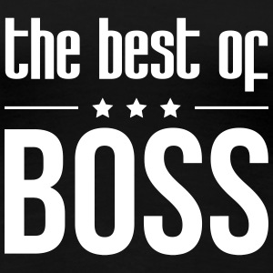 The Best of Boss T-shirts - Vrouwen Premium T-shirt