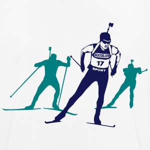 Biathlon - cross country skiing - skiing - ski T-Shirts - Men's Breathable T-Shirt