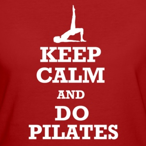 Keep Calm Pilates T-Shirts - Frauen Bio-T-Shirt
