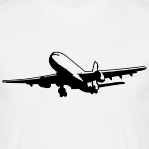Aircraft passenger airplane vacation T-Shirts - Men's T-Shirt
