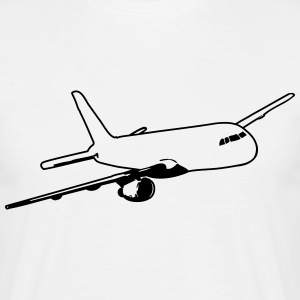 Fly flyve passagerfly T-shirts - Herre-T-shirt