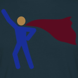 Yet another super hero - 3 Color Vector T-Shirts - Men's T-Shirt