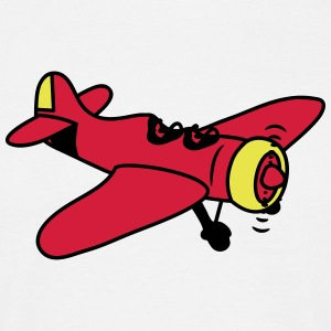 Plane flying propeller T-Shirts - Men's T-Shirt