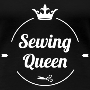 Sewing Queen T-shirts - Premium-T-shirt dam