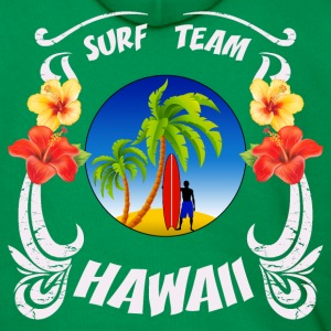 hawaii surf  team Sweat-shirts - Sweat-shirt à capuche Premium pour hommes