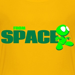 from space - Teenager Premium T-Shirt
