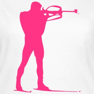 Biathlon - cross country skiing - skiing - ski T-Shirts - Women's T-Shirt