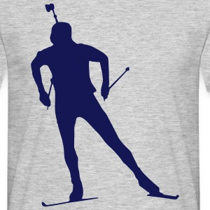 Biathlon - cross country skiing - skiing - ski T-Shirts - Men's T-Shirt