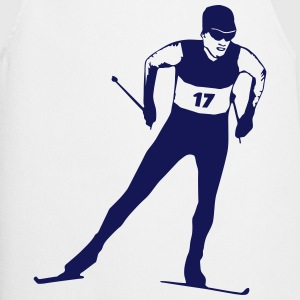 cross country skiing - skiing - ski  Aprons - Cooking Apron