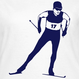 cross country skiing - skiing - ski T-Shirts - Women's T-Shirt
