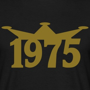 1975_crown T-shirts - Mannen T-shirt