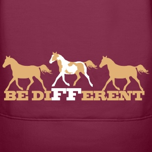 Paint Horse - Be different Felpe - Felpa con cappuccio premium da donna