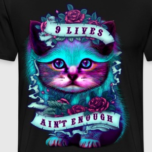 Sort CAT LOVERS T-shirts - Herre premium T-shirt
