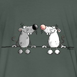 Mice in Love T-Shirts - Men's Organic T-shirt