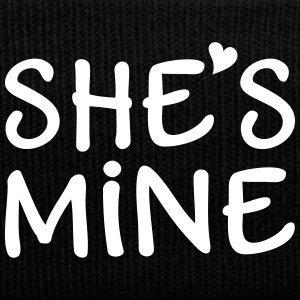 She's Mine I love you my Girlfriend Ich liebe Dich Caps & Mützen - Wintermütze