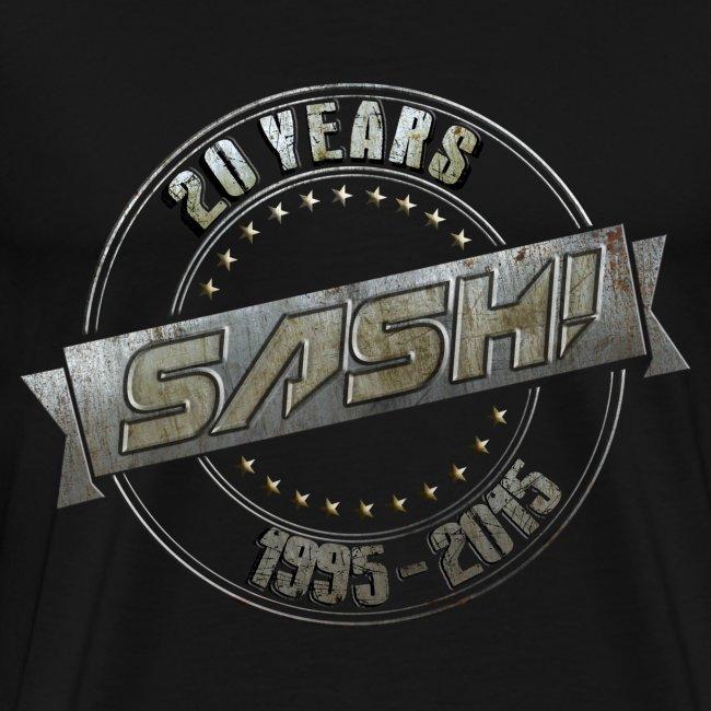 SASH! 20 Years Shirt