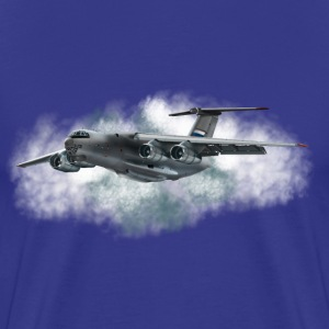 transport aircraft T-shirts - Mannen Premium T-shirt