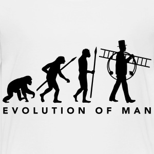 evolution_of_man_schornsteinfeger_012015 T-Shirts - Kinder Premium T-Shirt