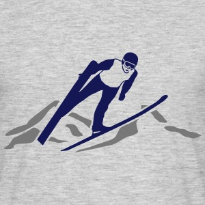 ski jumping - ski flying - skijumper T-Shirts - Men's T-Shirt