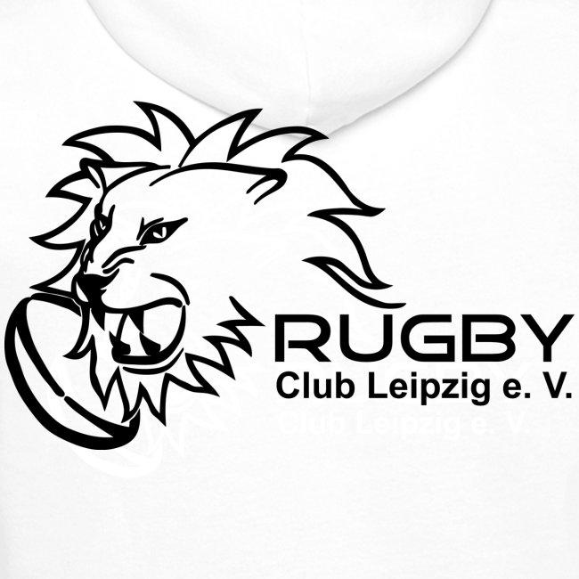 Kapuzenpullover weiß Männer Rugby Club Leipzig