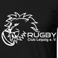 Motiv ~ T-Shirt schwarz Logo Rugby Club Leipzig