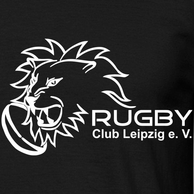 T-Shirt schwarz Logo Rugby Club Leipzig