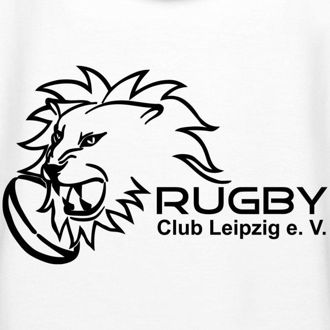 Kapuzenpullover weiß Frauen Rugby Club Leipzig